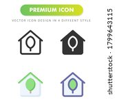 home icon isolated on white...