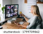 Virtual happy hour party. video ...