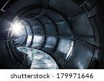 Abstract Underground Industria...