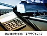 business accounting  | Shutterstock . vector #179976242