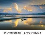 Fishermen Fishing In Phu Yen...