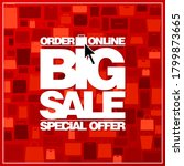 big sale special offer  order... | Shutterstock .eps vector #1799873665