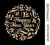 happy new year illustration.... | Shutterstock .eps vector #1799946358