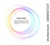 design elements. wave of many... | Shutterstock .eps vector #1800007225