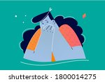 emotion  facial  expression ...   Shutterstock .eps vector #1800014275