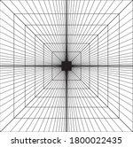 abstract vector geometric... | Shutterstock .eps vector #1800022435
