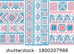 tribal pattern of north east... | Shutterstock .eps vector #1800207988
