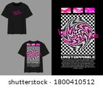 industrial streetwear t shirt...   Shutterstock .eps vector #1800410512