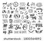 ampersands and catchwords... | Shutterstock .eps vector #1800564892