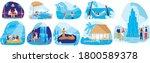 natural spa resorts vector... | Shutterstock .eps vector #1800589378