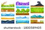 ground surface landscape vector ... | Shutterstock .eps vector #1800589405