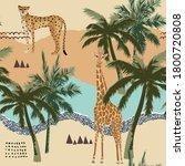 abstract summer background.... | Shutterstock . vector #1800720808