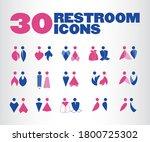30 premium designed restroom...