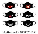 set of designs of reusable... | Shutterstock .eps vector #1800895135