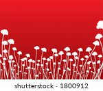 organic background in red  ... | Shutterstock .eps vector #1800912