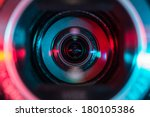 video camera lens | Shutterstock . vector #180105386