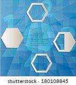 abstract geometrical design  | Shutterstock .eps vector #180108845