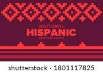 national hispanic heritage...   Shutterstock .eps vector #1801117825