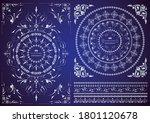 set of vintage elements for... | Shutterstock .eps vector #1801120678