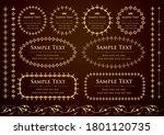 set of vintage elements for... | Shutterstock .eps vector #1801120735