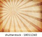 vintage sunbeams background | Shutterstock . vector #18011260