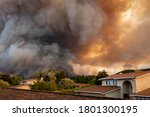 """The California """"river Fire"""" Of..."""
