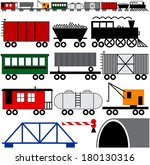 Trains Cars And Engine To Make...