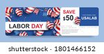 usa labor day gift promotion... | Shutterstock .eps vector #1801466152