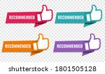 colorful label with hands set...   Shutterstock .eps vector #1801505128