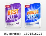 power wash and cleaner label... | Shutterstock .eps vector #1801516228