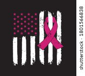 awareness ribbon   breast... | Shutterstock .eps vector #1801566838