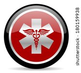 emergency icon | Shutterstock . vector #180159938