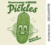 Funny Pickle Cartoon...