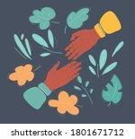vector cartoon style... | Shutterstock .eps vector #1801671712