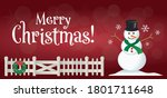 Christmas Card Happy Holiday...