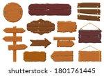 wooden boards. rustic wooden...   Shutterstock . vector #1801761445