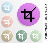 zoom sign badge color set....