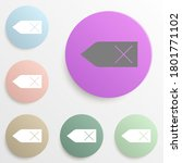 price tag badge color set....