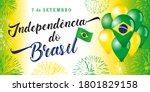 7 september  portuguese text ... | Shutterstock .eps vector #1801829158