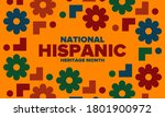 national hispanic heritage...   Shutterstock .eps vector #1801900972