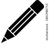 pencil icon vector for web and...