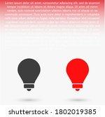 lightbulb icon 10 eps. lorem...   Shutterstock .eps vector #1802019385
