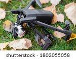 Broken Black Quadcopter Drone...