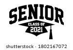 seniors class of 2021 vector ...   Shutterstock .eps vector #1802167072