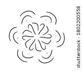 circular pattern in form of... | Shutterstock . vector #1802200558