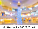 abstract blur people in... | Shutterstock . vector #1802229148