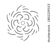 circular pattern in form of... | Shutterstock . vector #1802239315