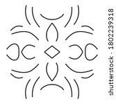 circular pattern in form of... | Shutterstock . vector #1802239318