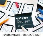 ux ui design concept. samples...