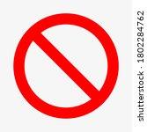 vector template sign is... | Shutterstock .eps vector #1802284762